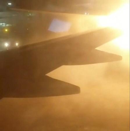 Choque entre aviões causa explosão em aeroporto no Canadá