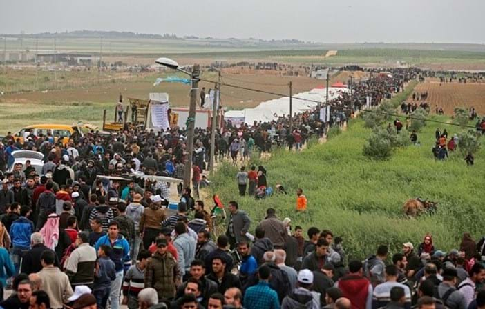 Vários palestinianos mortos durante protesto na Faixa de Gaza