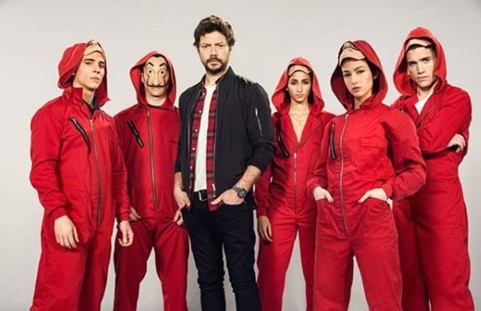 Atores de 'La Casa de Papel' participarão de nova série da Netflix