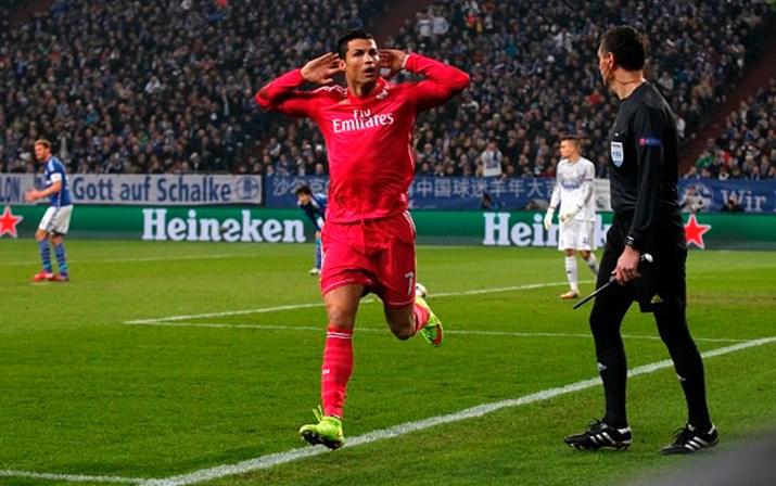 c724b36aaef Ronaldo marca e deixa Real perto dos quartos-de-final - Futebol - SÁBADO