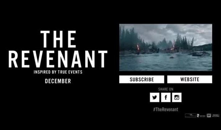 Trailer - The Revenant: O Renascido