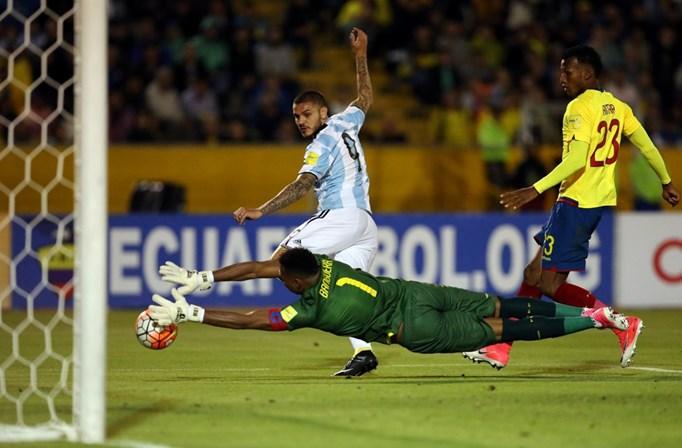 f35500d67d Os três golos de Messi que colocaram a Argentina no Mundial ...