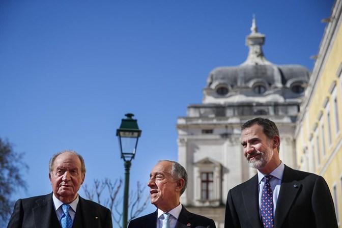 bc4b4ff7cbd5f Marcelo inicia visita de Estado de três dias a Espanha - Política ...