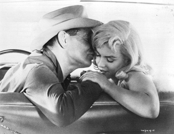 Marilyn Monroe e Clark Gable